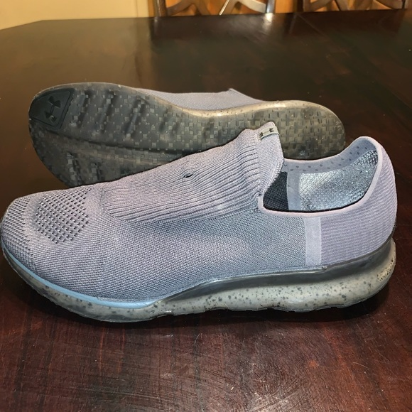 Under Armour Knit Slip On Custom Shoes